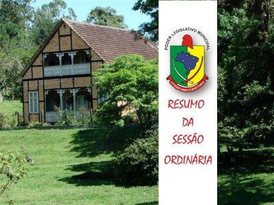 24ª SESSÃO ORDINÁRIA